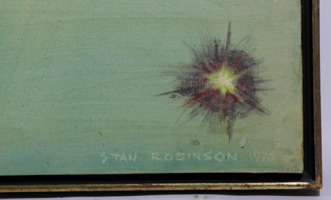 STAN ROBINSON (AMERICAN 1927-1999)RARE WWII BOMBER - 5