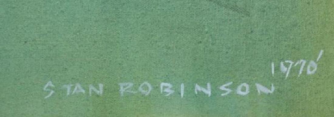 STAN ROBINSON (AMERICAN 1927-1999)RARE WWII BOMBER - 3