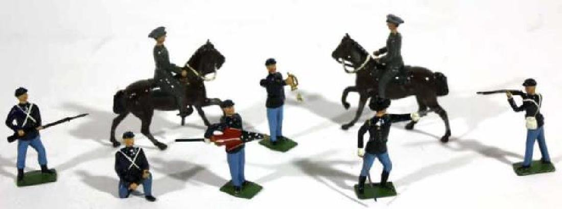 ANTIQUE LEAD TOY SOLDIER GROUPING - 2