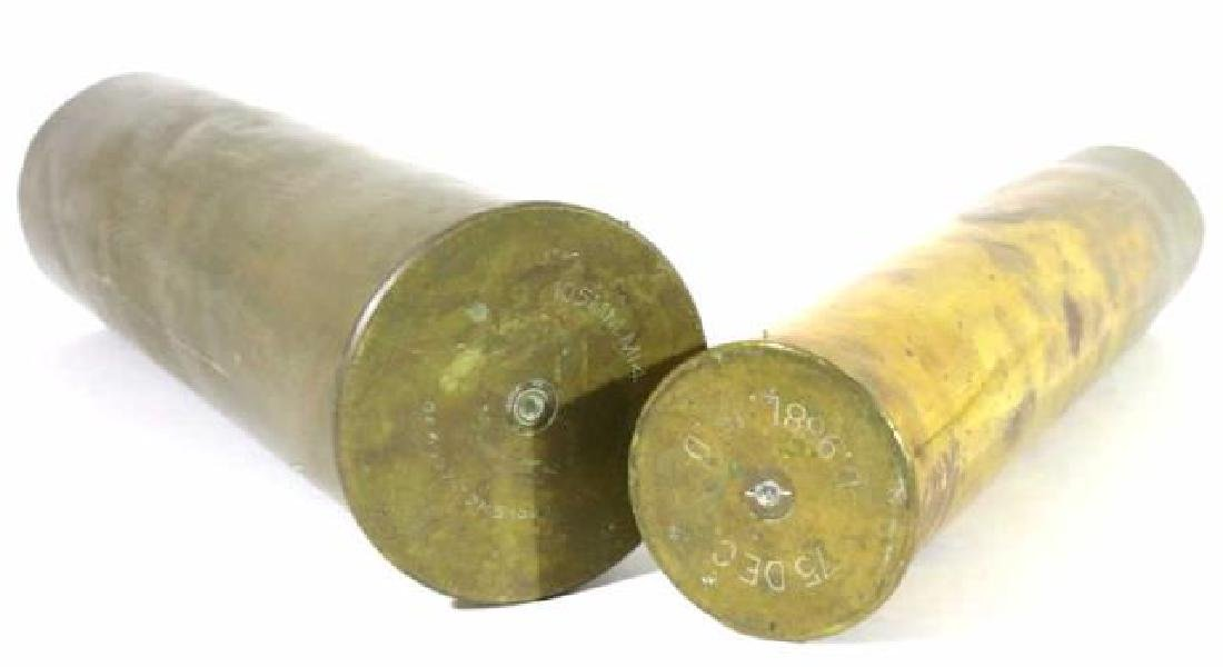 WWI TRENCH ART MORTAR SHELLS - 2
