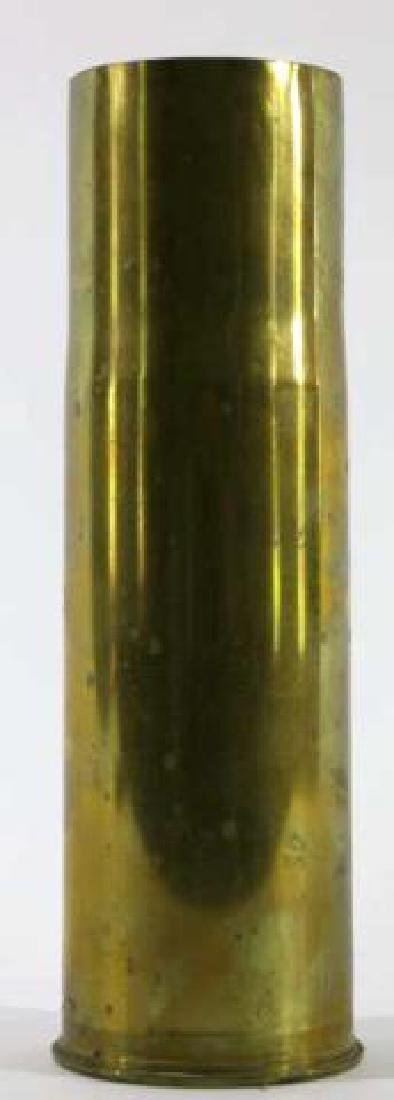 75MM TRENCH ART MORTAR WWI / WWII SHELL - 4