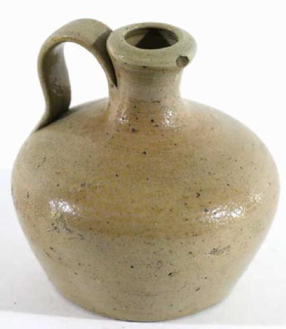 ANTIQUE SOUTHERN POTTERY FLASK