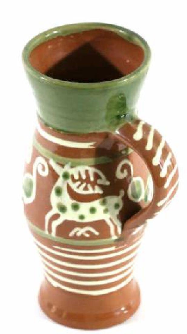 "OLD SALEM ""CZECH "" SEAGROVE TERRACOTTA STEIN - 2"