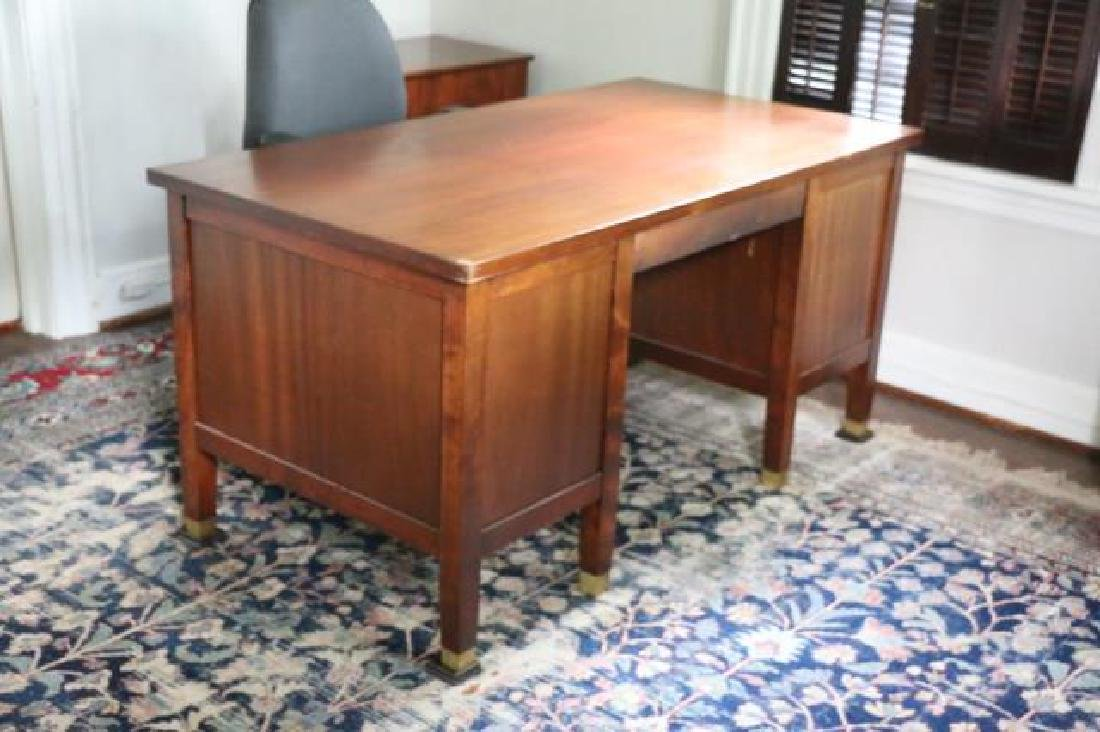 DR. MONROE WORKING MAHOGANY WRITING DESK - 2