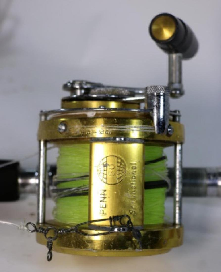 VINTAGE PENN INTERNATIONAL 30 FISHING REEL - 8