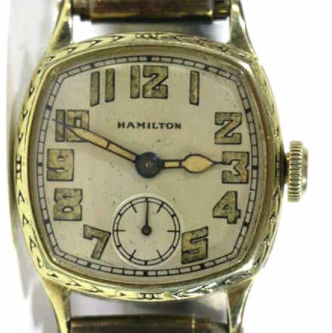 HAMILTON VINTAGE GOLD MEN'S WATCH - 2