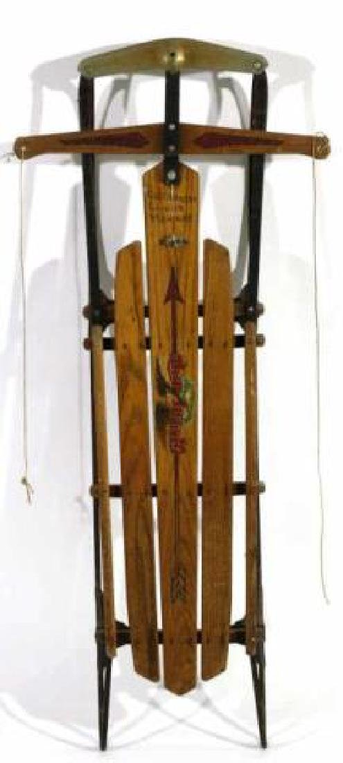 AMERICAN FLEXIBLE FLYER ANTIQUE SLED - 3