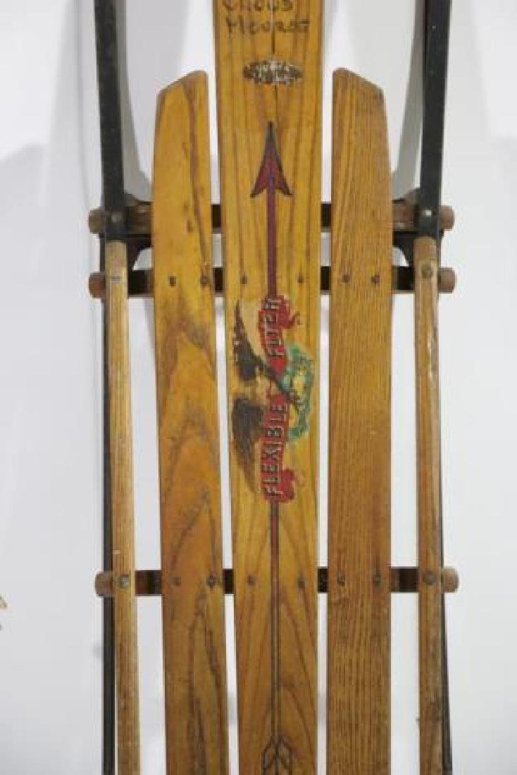 AMERICAN FLEXIBLE FLYER ANTIQUE SLED - 4