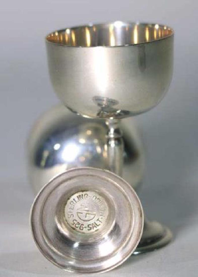 STERLING SILVER RAISED MASTER SALTS - 3