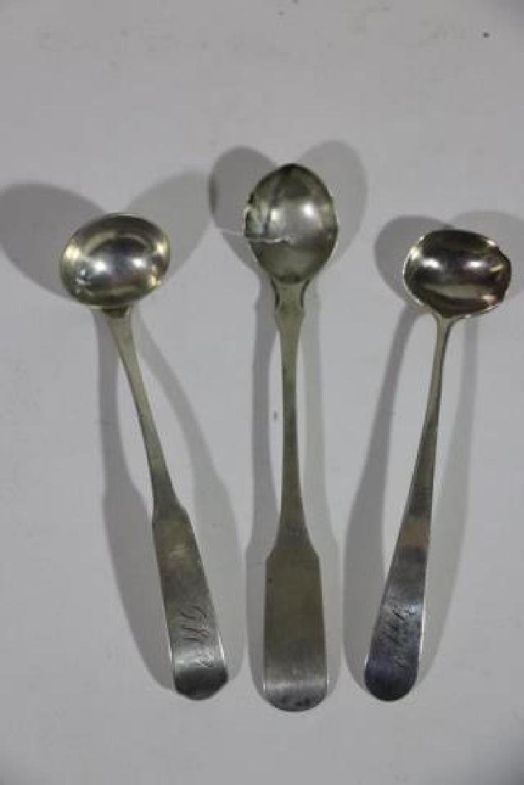 AMERICAN COIN SILVER SPOON GROUPING - 10