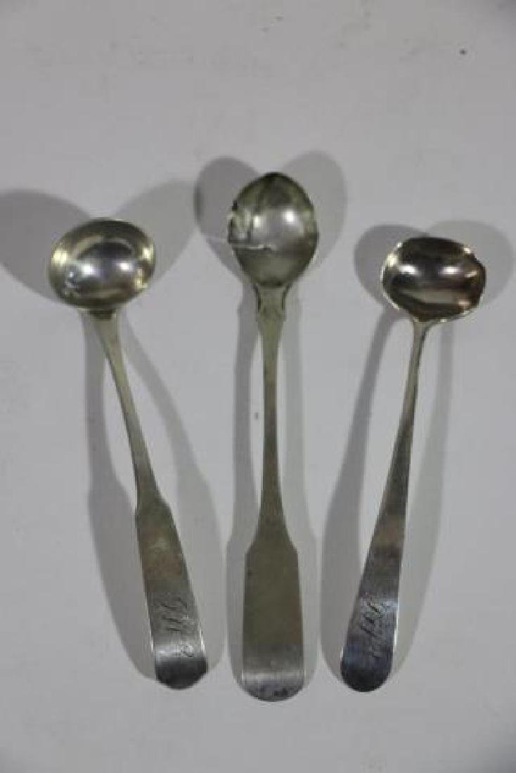 AMERICAN COIN SILVER SPOON GROUPING - 2