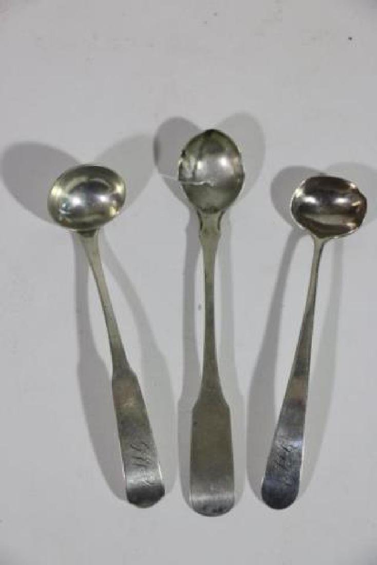 AMERICAN COIN SILVER SPOON GROUPING - 9