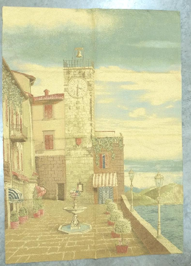 FRENCH AUBUSSON CLASSICAL HANGING TAPESTRY