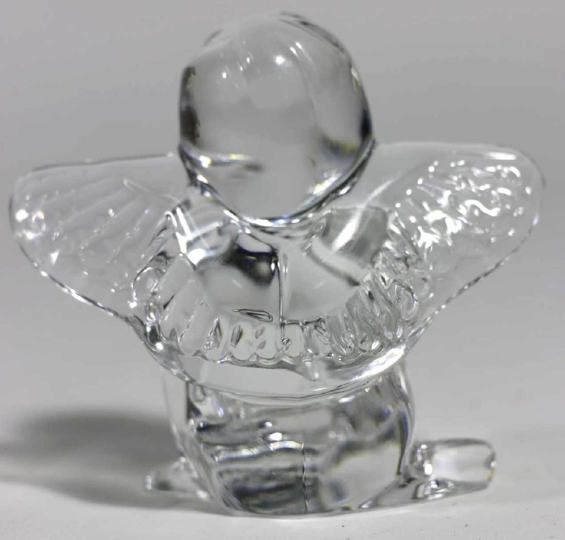 BACCARAT FRENCH ARTGLASS ANGEL - 3