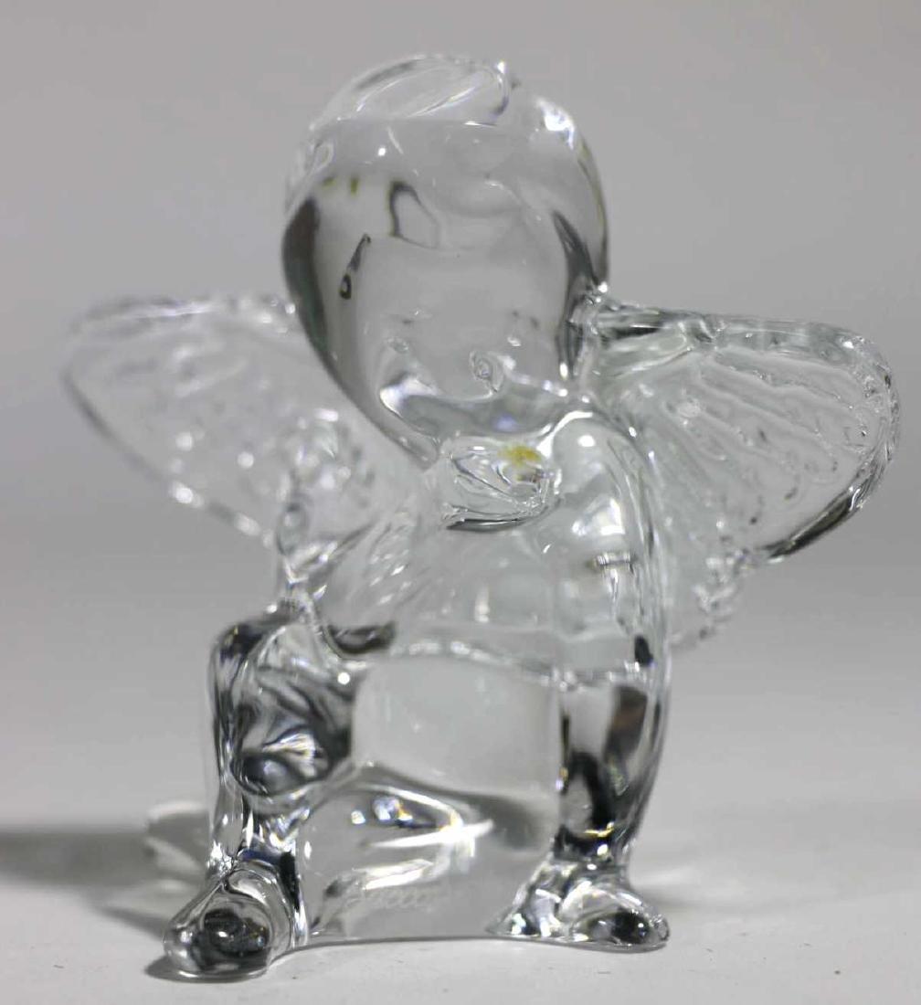 BACCARAT FRENCH ARTGLASS ANGEL - 7