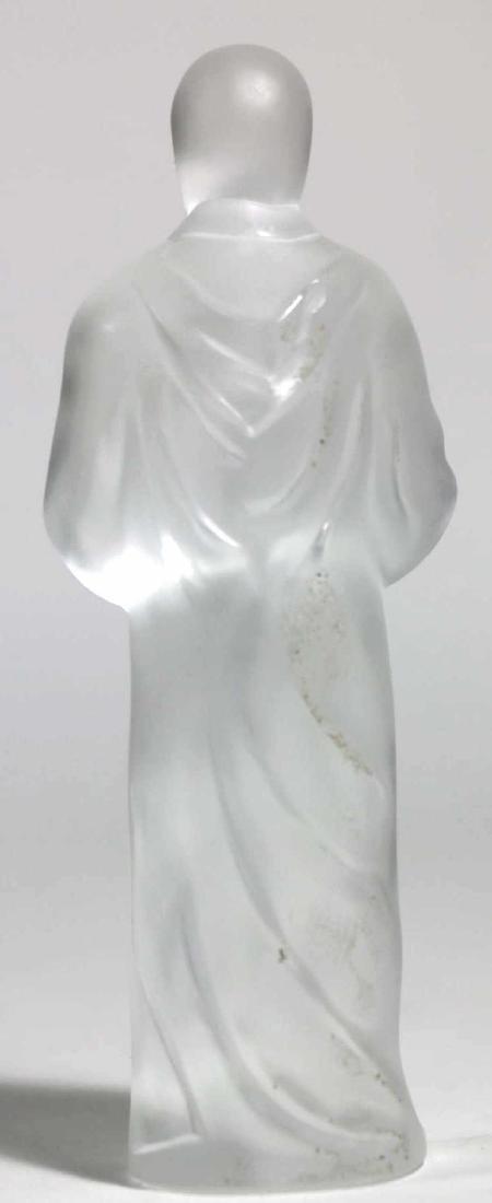LALIQUE FRENCH ARTGLASS SAINT CHRISTOPHER - 4