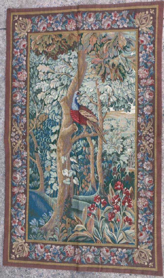 FRENCH AUBUSSON CLASSICAL HANGING TAPESTRY - 3
