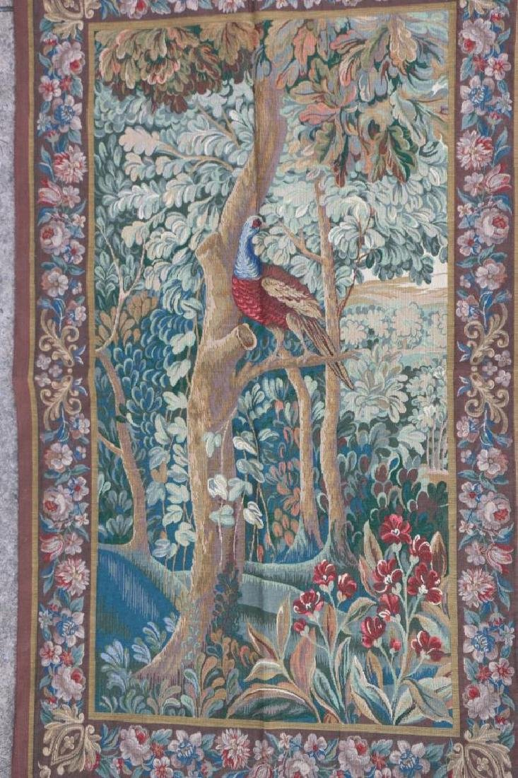 FRENCH AUBUSSON CLASSICAL HANGING TAPESTRY - 4