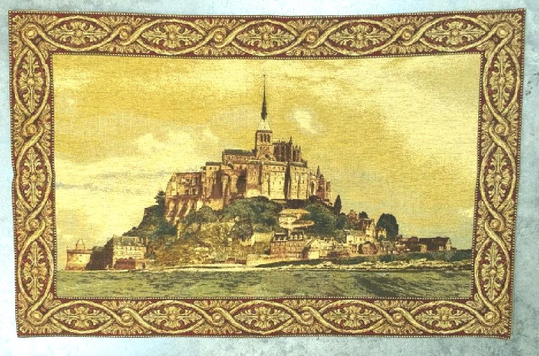 FRENCH AUBUSSON CLASSICAL HANGING TAPESTRY - 2