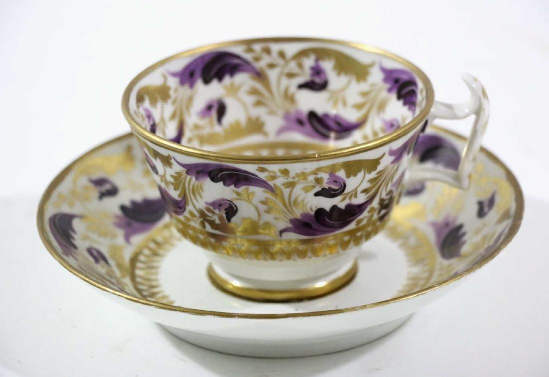 1810 DARBY PORCELAIN TEA CUP & SAUCER
