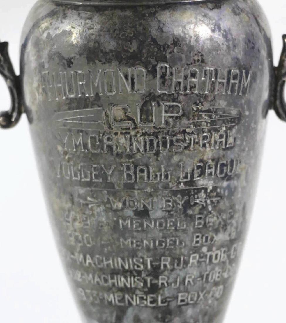 THURMUND CHATHAM TROPHY CUSTOM GOLF MOTIF LAMP - 2