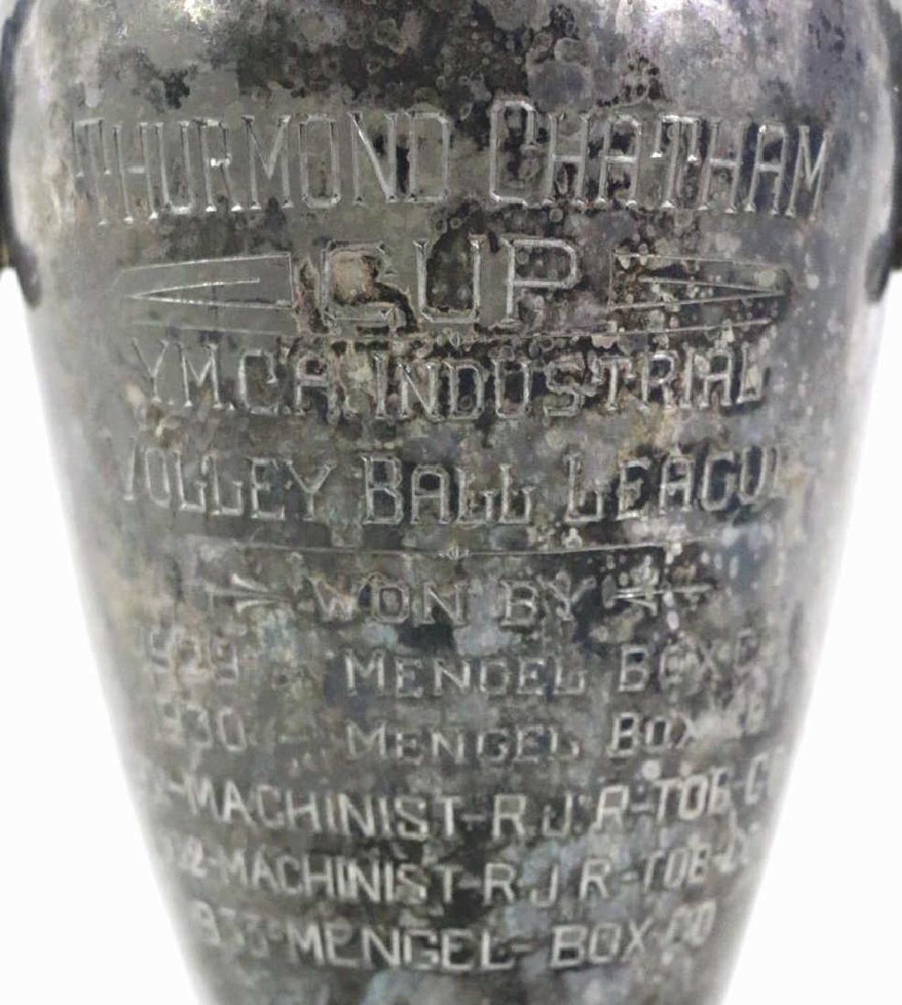 THURMUND CHATHAM TROPHY CUSTOM GOLF MOTIF LAMP - 7