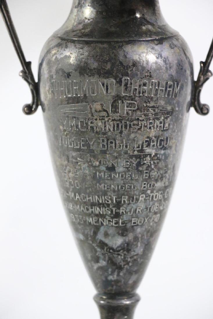 THURMUND CHATHAM TROPHY CUSTOM GOLF MOTIF LAMP - 8