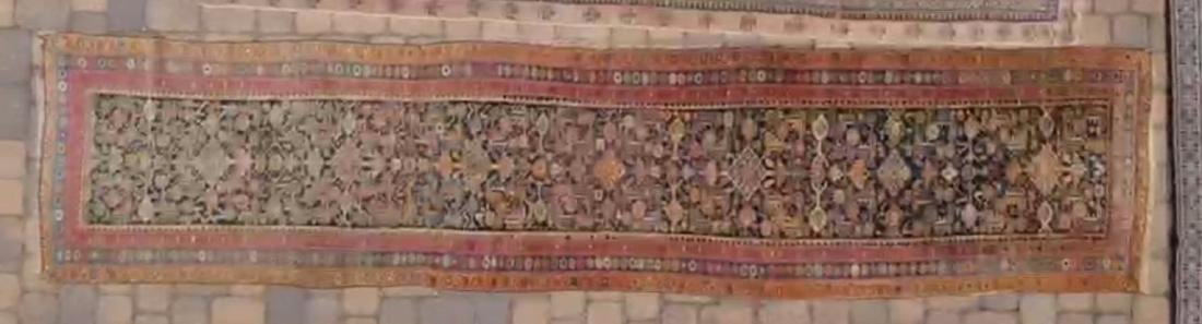 PERSIAN MALAYER ANTIQUE HAND WOVEN LONG RUNNER