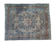 PERSIAN ANTIQUE MASHAD HAND WOVEN ROOM SIZE RUG