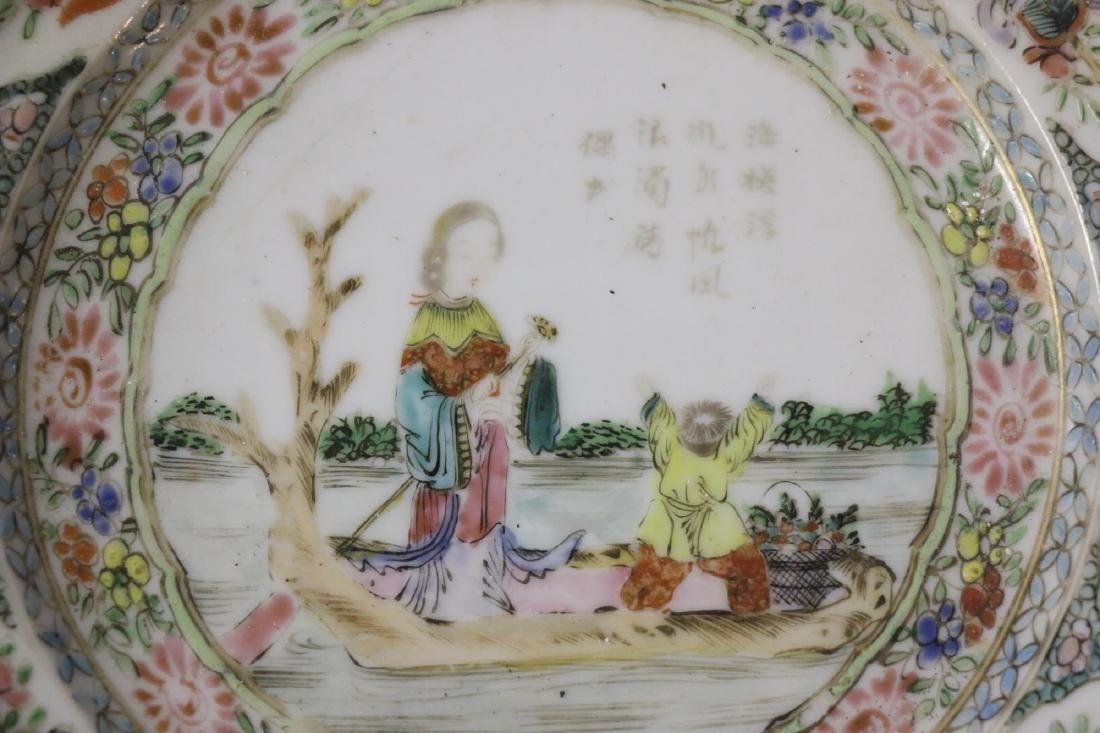 ANTIQUE CHINESE PORCELAIN PLATE - 4