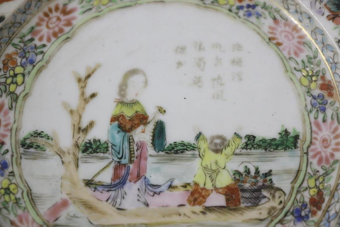 ANTIQUE CHINESE PORCELAIN PLATE - 9