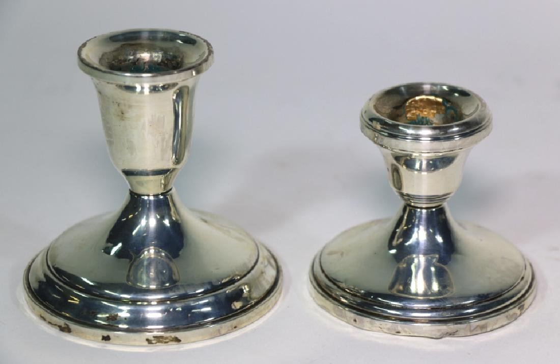 TOWLE STERLING SILVER CANDLE STICKS