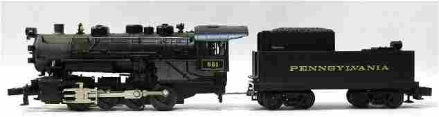 LIONEL STEAM ENGINE #5661 & TENDER