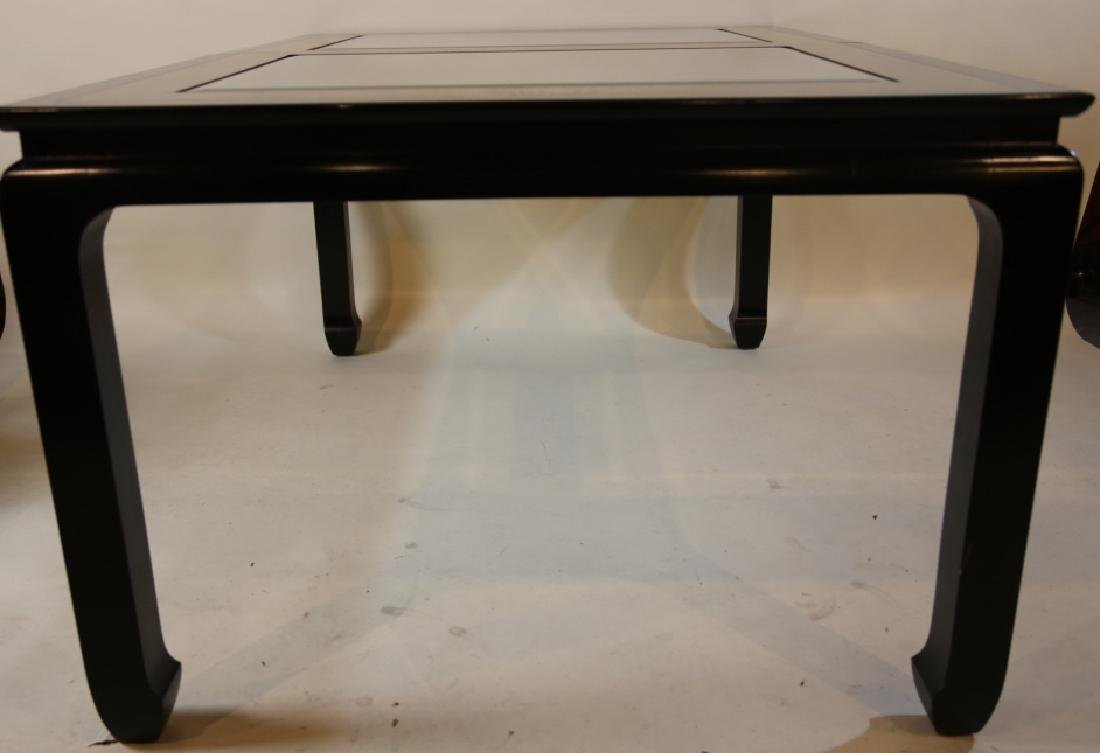 MID CENTURY MODERN BURL DINING TABLE  BY CENTURY - 6