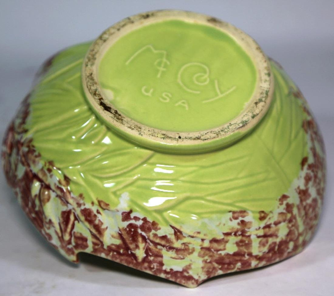 McCOY AMERICAN POTTERY COMPOTE - 4