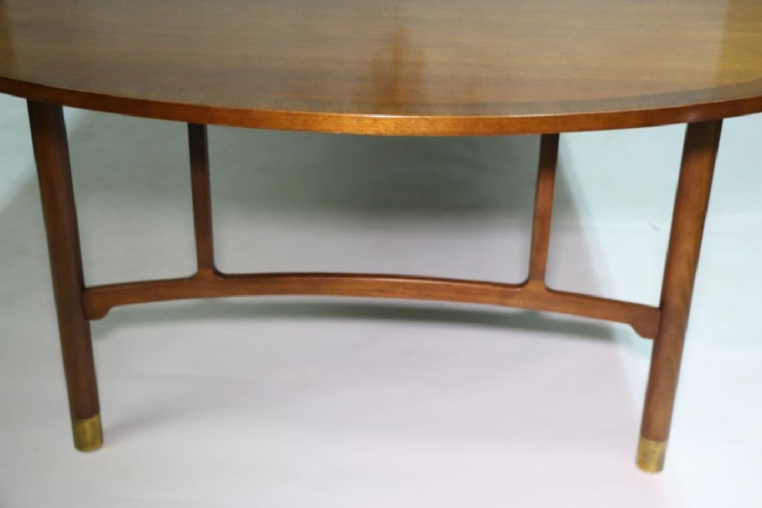 MID-CENTURY MODERN 10' BANDED DINING TABLE - 2