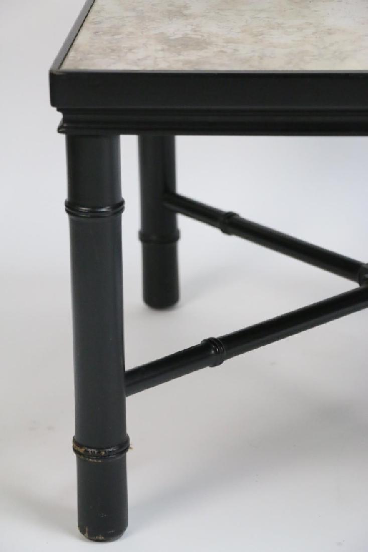 MID-CENTURY MODERN METAL WORK & STONE TABLE - 4