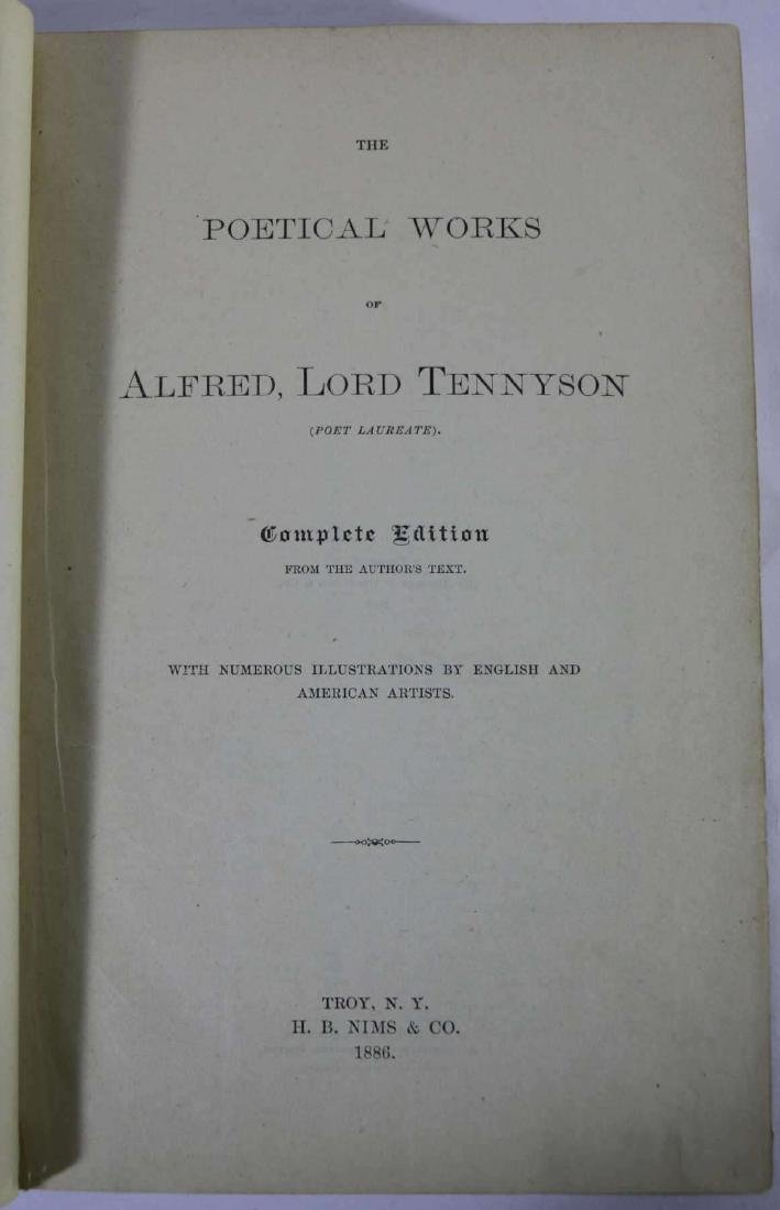 LORD ALFRED TENNYSON  ILLUSTRATED POETIC WORKS - 3