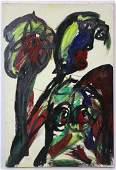 """PETER ROBERT KEIL """"FLOWER AND A DOLL"""" MODERN WORK"""