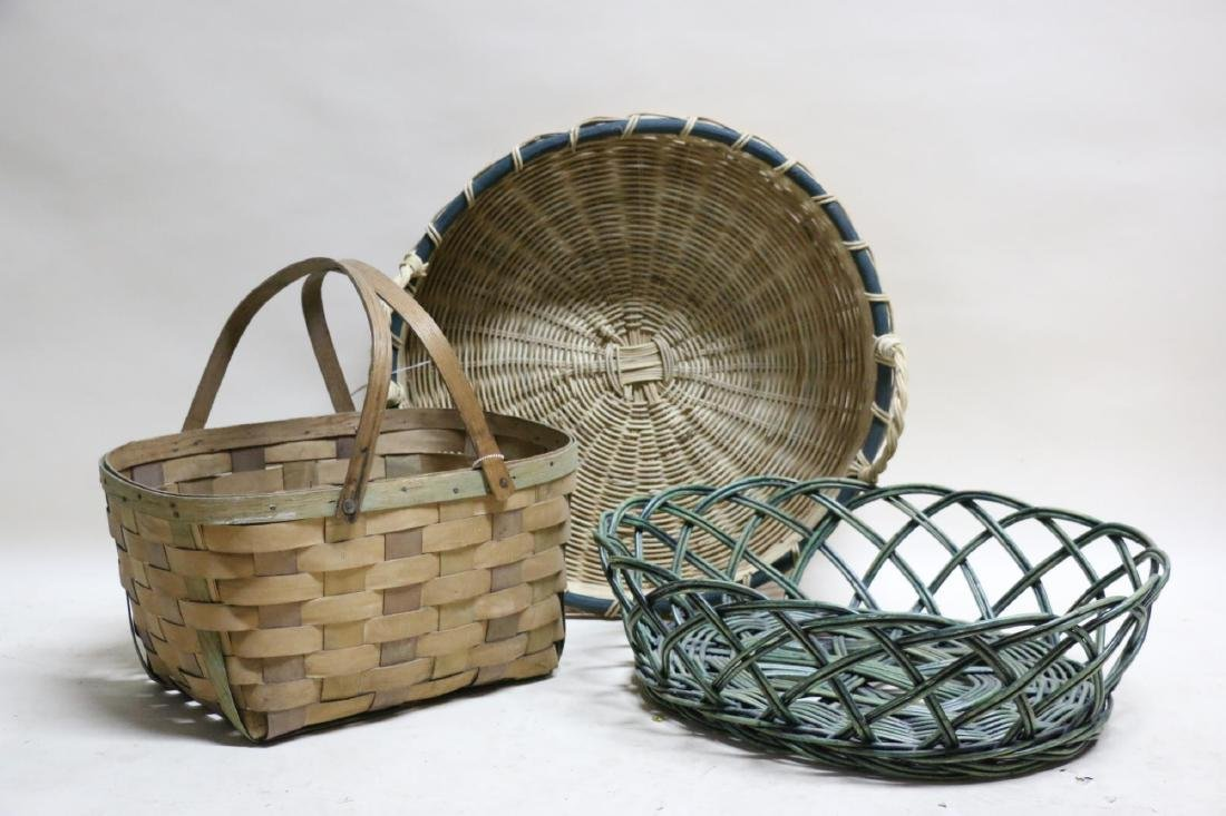 ANTIQUE BASKET GROUPING