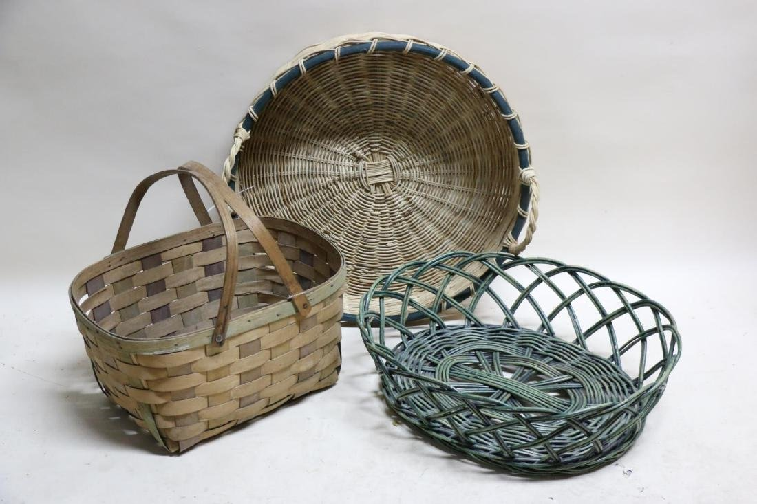 ANTIQUE BASKET GROUPING - 4
