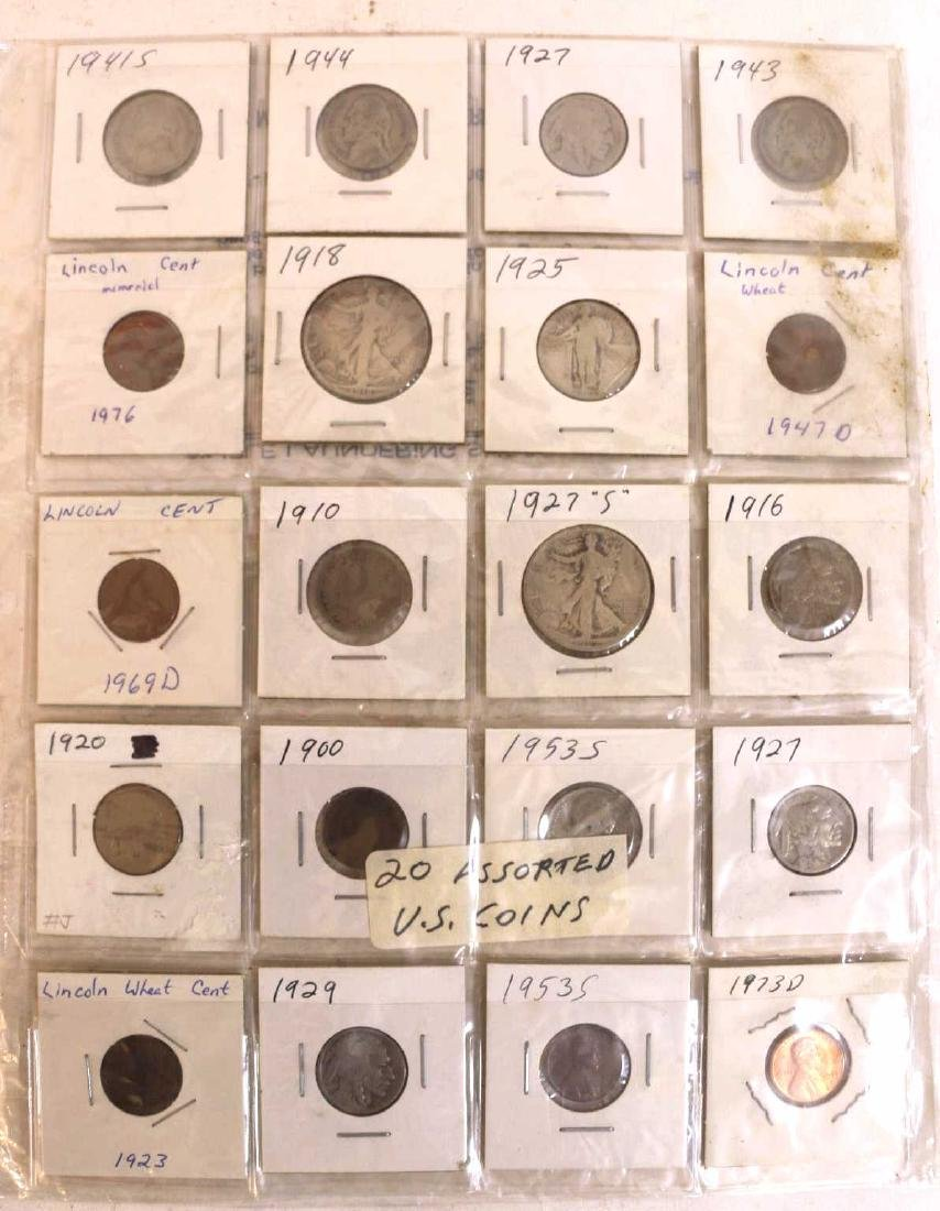AMERCIAN ANTIQUE COIN GROUPING