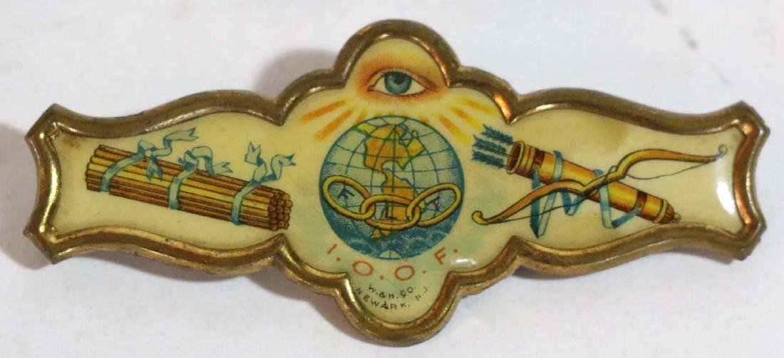 NJ INDEPENDANT ORDER OF THE ODD FELLOWS PIN