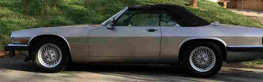 1992 JAGUAR XJS V12 CABRIOLET 65K ORIGINAL MILES