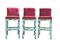 OLD HICKORY TANNERY MARCUS HORCHOW EXOTIC STOOLS