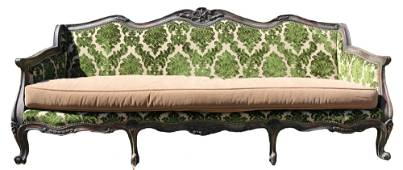 OLD HICKORY TANNERY CUSTOM UPHOLSTERED SOFA