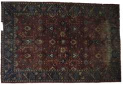 IMPORTANT PERSIAN ANTIQUE HANDWOVEN ROOM SIZE RUG