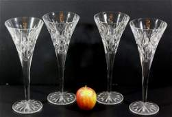 WATERFORD TALL CHAMPAGNE FLUTES