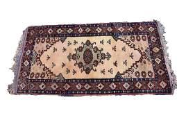 PERSIAN SEMI ANTIQUE 73 HANDWOVEN AREA CARPET