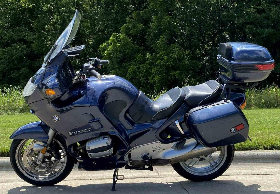 2002 BMW R1150RT EURO LUXURY TOURING BIKE